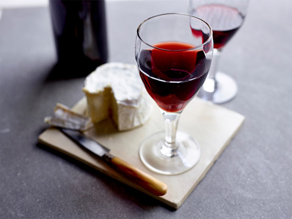Bordeaux and cheese board