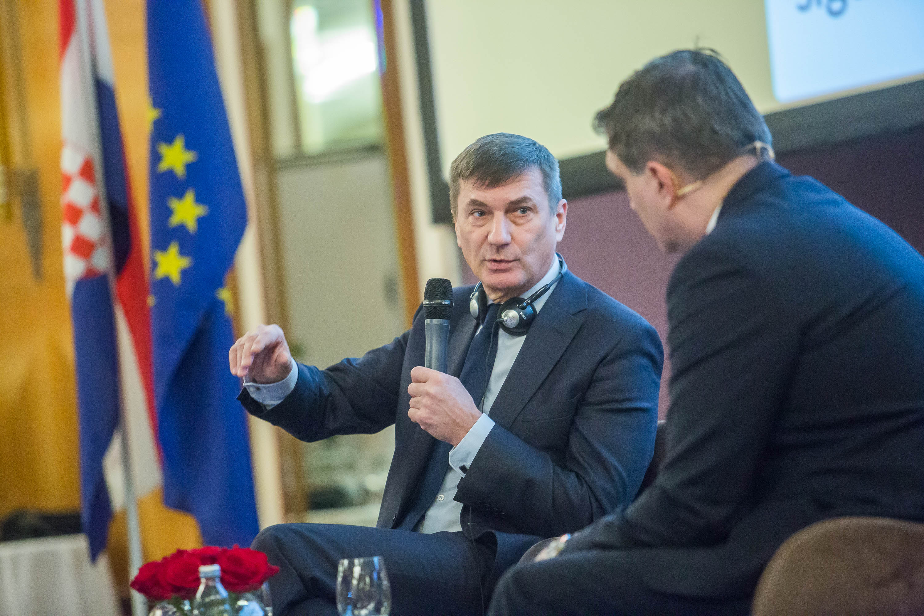 Citizens' Dialogue VP Ansip Zagreb