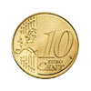 Euro coin common side 10 cents, new design