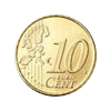Euro coin common side 10 cents