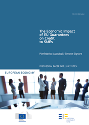 The Economic Impact of EU Guarantees on Credit to SMEs Evidence from CESEE Countries