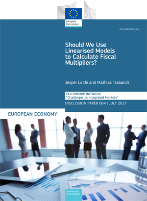 Should We Use Linearised Models to Calculate Fiscal Multipliers?