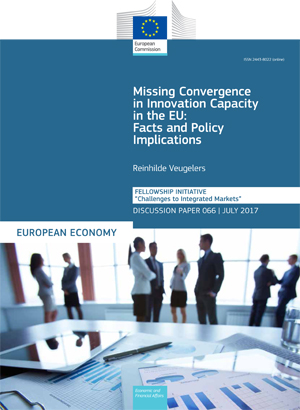 Missing Convergence in Innovation Capacity in the EU: Facts and Policy Implications