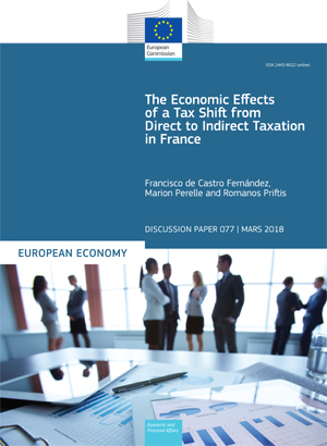 The Economic Effects of a Tax Shift from Direct to Indirect Taxation in France