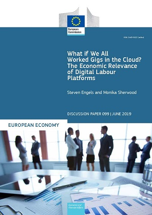 What if We All Worked Gigs in the Cloud? The Economic Relevance of Digital Labour Platforms