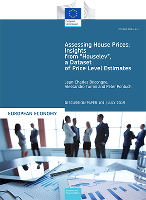 "Assessing House Prices: Insights from ""Houselev"", a Dataset of Price Level Estimates"