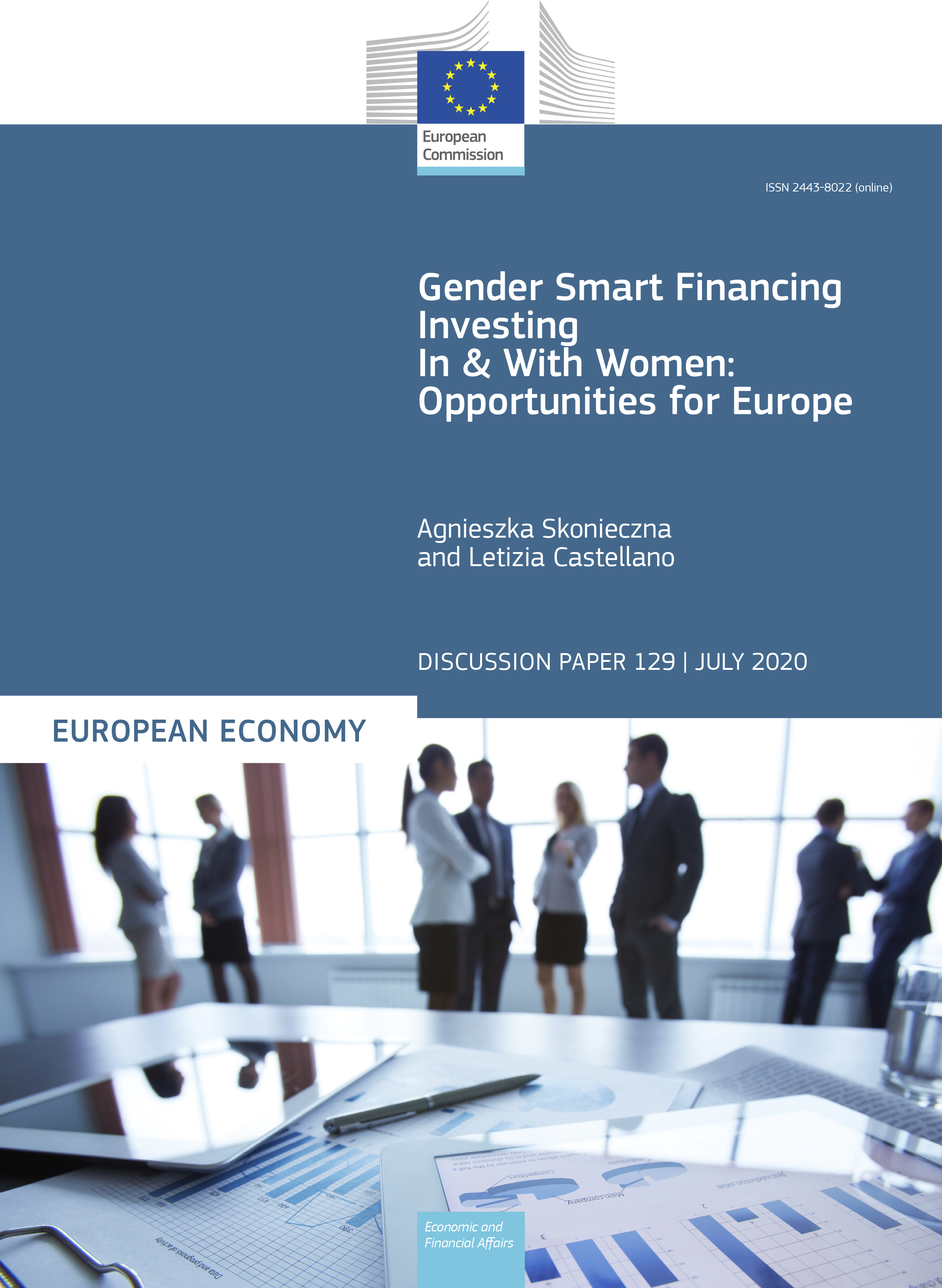 Gender Smart Financing. Investing In and With Women: Opportunities for Europe