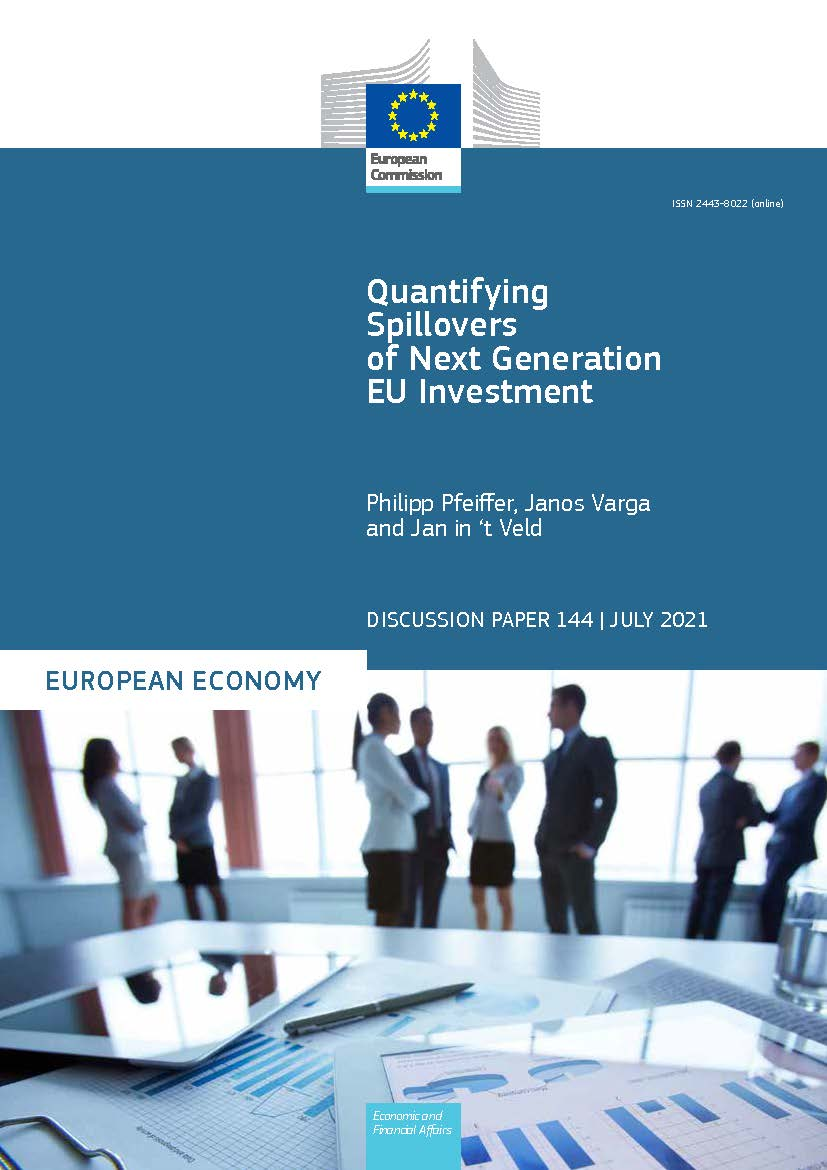 Quantifying Spillovers of Next Generation EU Investment