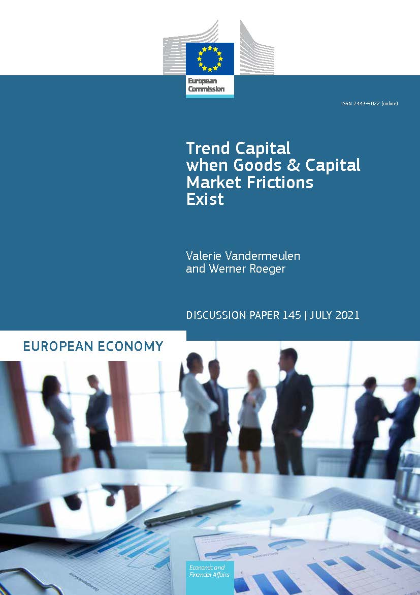 Trend Capital when Goods and Capital Market Frictions Exist