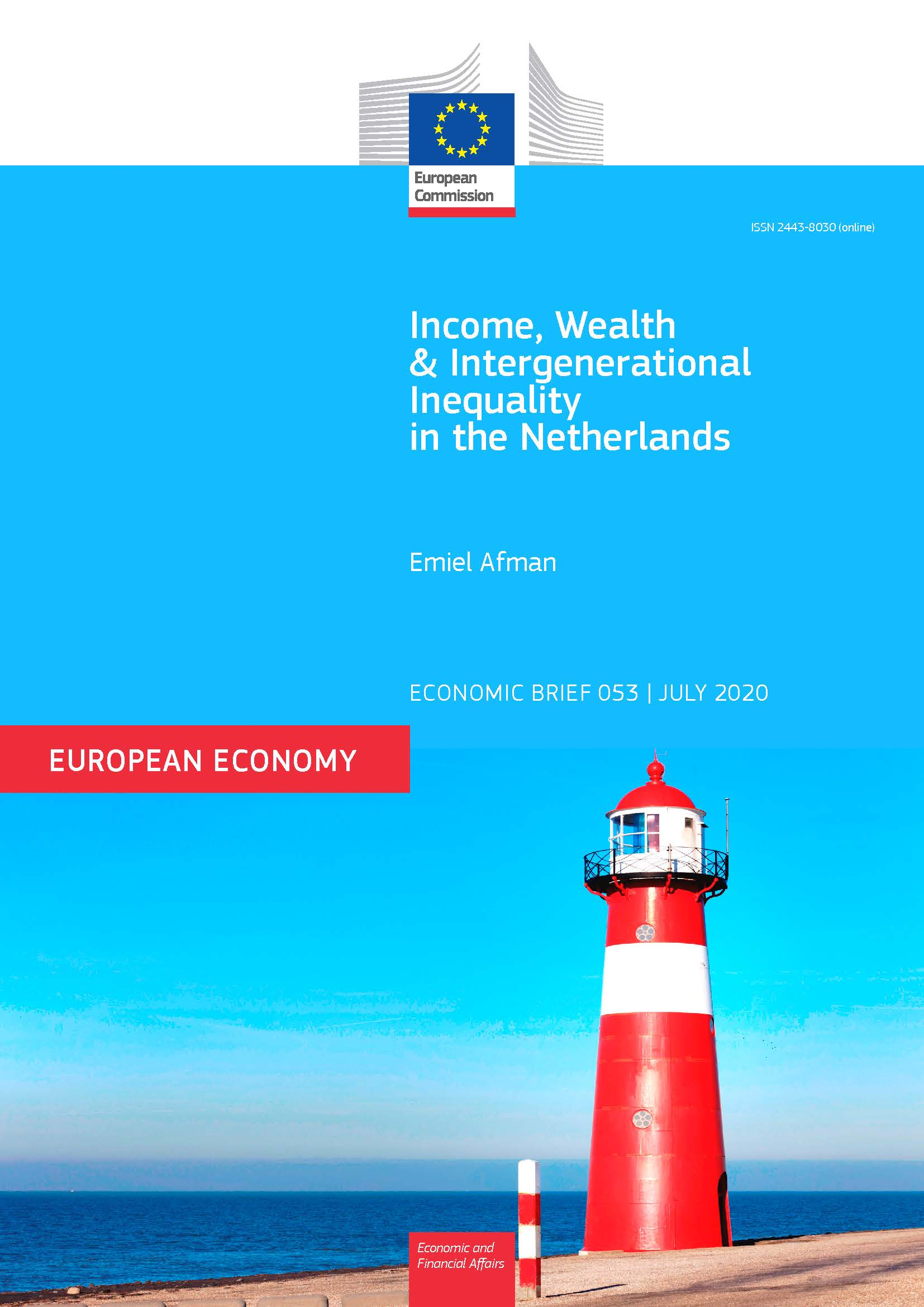 Income, Wealth and Intergenerational Inequality in the Netherlands