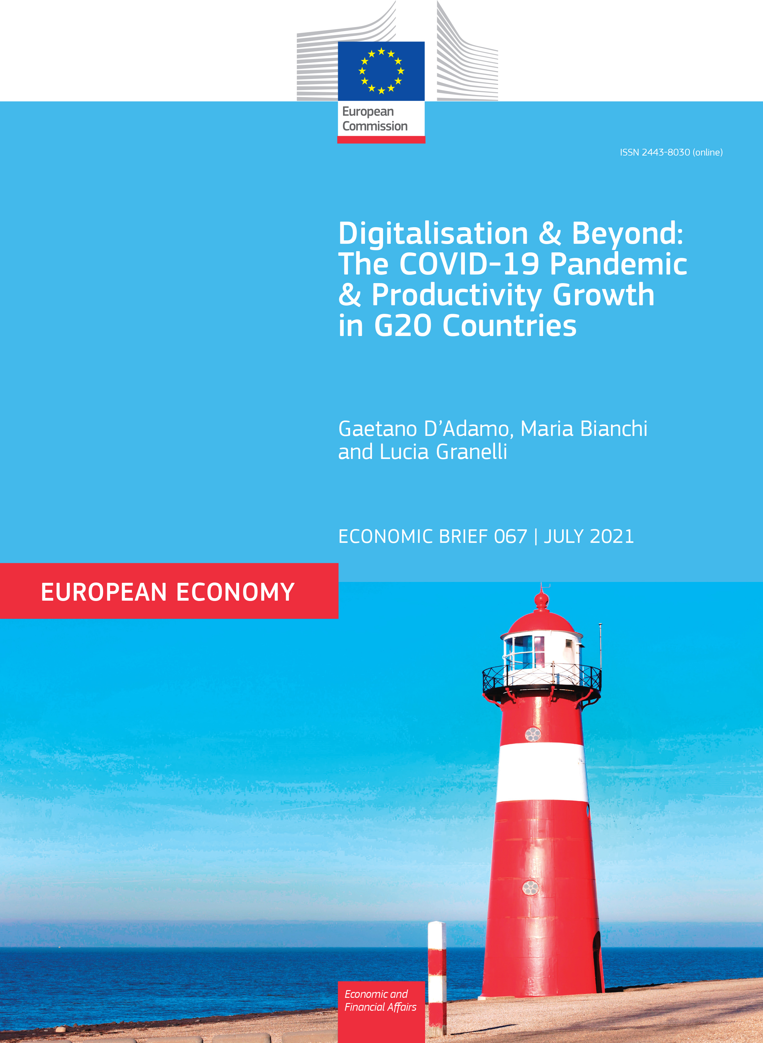 Digitalisation and Beyond: The COVID-19 Pandemic and Productivity Growth in G20 Countries