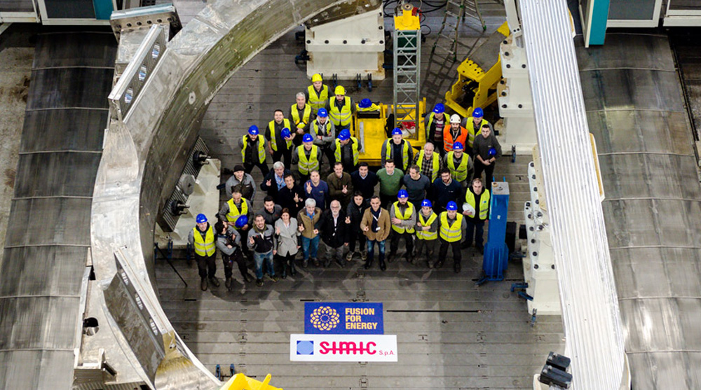 Group picture Europe's ITER progress
