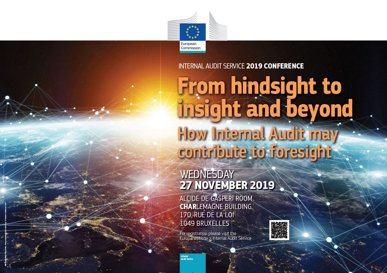 Poster of the Internal Audit Service Conference