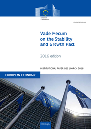 Vade Mecum on the Stability and Growth Pact – 2016 edition
