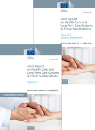 Joint Report on Health Care and Long-Term Care Systems & Fiscal Sustainability