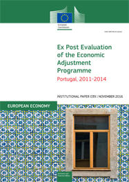 Ex Post Evaluation of the Economic Adjustment Programme. Portugal, 2011-2014