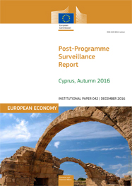 Post-Programme Surveillance Report. Cyprus, Autumn 2016