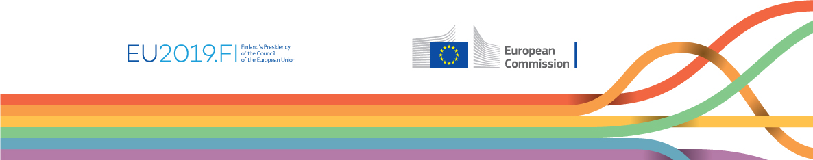 Logo of the High level conference on advancing LGBTI equality in the EU: from 2020 and beyond