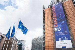 Picture of the Berlaymont facade
