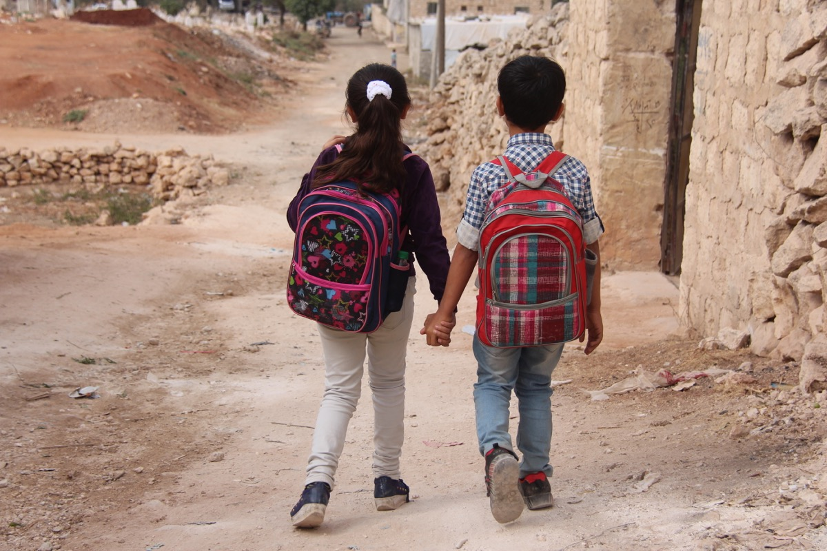 Children in Syria © People in Need, 2020