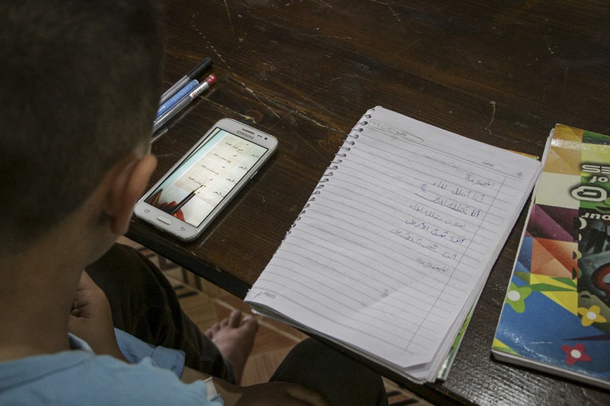 E-learning in Syria © People in Need, 2020