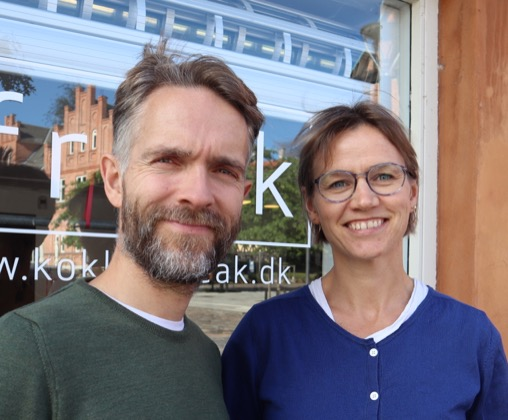Martin Fischer and his wife Line © Strengthened business at street level, 2020