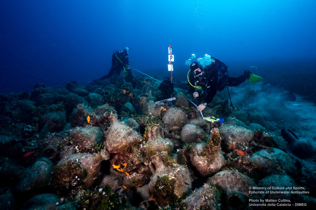 Underwater museum of Alonnisos © Ministry of Culture and Sports, Ephorate of Underwater Antiquities