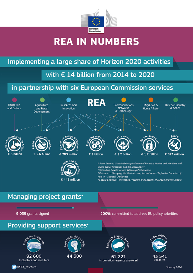 rea in numbers