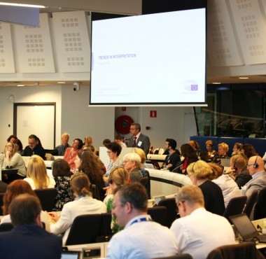 Photo: Presentation - EP - SCIC-Universities 2018