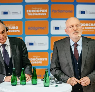 FVP Timmermans_Citizens Dialogue in Krakow6