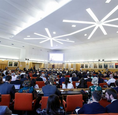 Delegates at the third AU-EU Ministerial Conference, Rome