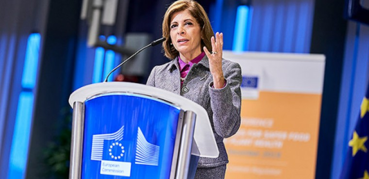 Stella Kyriakides, Commissioner for Health and Food Safety