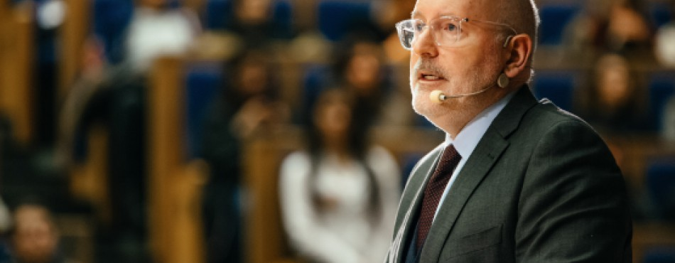 FVP Timmermans_Citizens Dialogue in Krakow11