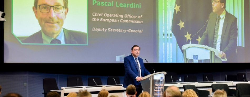 Pascal Leardini at the Internal Audit Service Conference 2019
