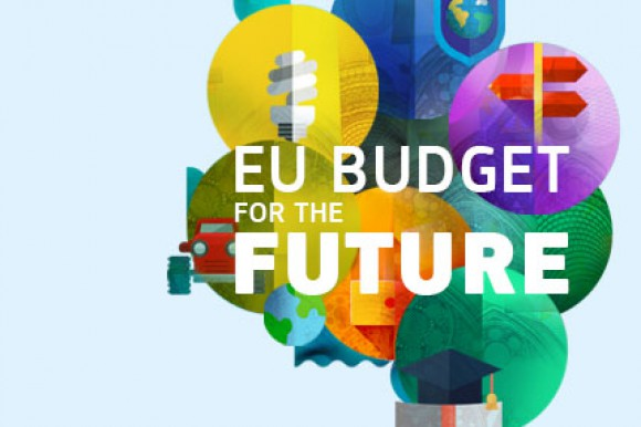 Graphic on the EU's budget for the future