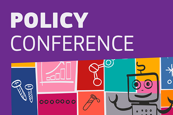 Policy conference banner