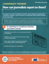 How can journalists report on them?