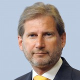 A picture of Commissioner Johannes Hahn