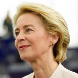 A picture of Commission President Ursula von der Leyen