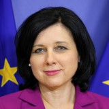 A picture of Commissioner Věra Jourová