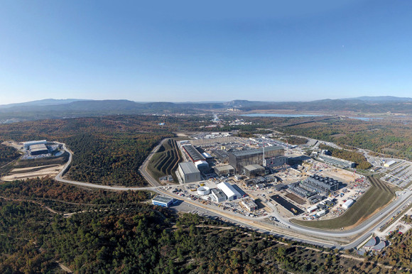 ITER site aerial view
