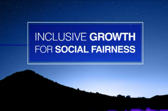 Inclusive growth for social fairness