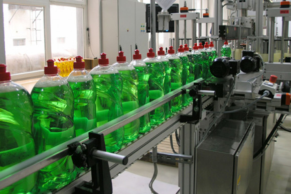 Photo of a packaging plant