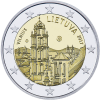 Lithuania - 2 euros - Vilnius city panorama