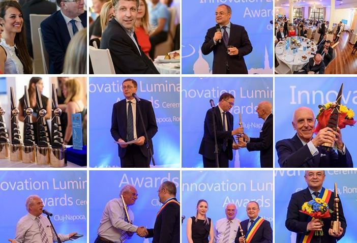 Luminary Awards photo collage
