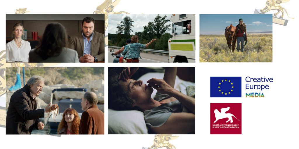 Venezia 74 Five competition features five films funded by the MEDIA Programme