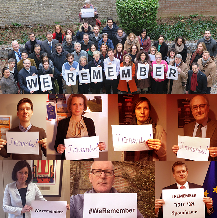 We remember - photo collage
