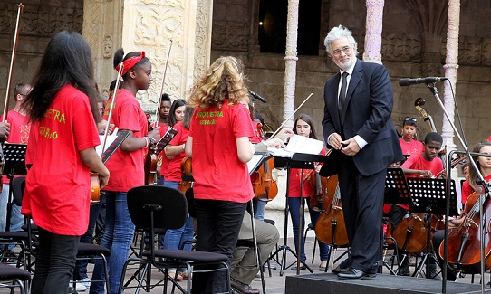 Maestro Placido Domingo