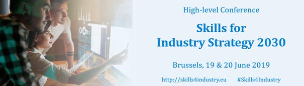 Skills for industry 2030 banner
