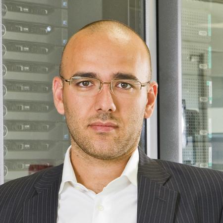 Picture of Stegano Cecconi, CEO Aruba